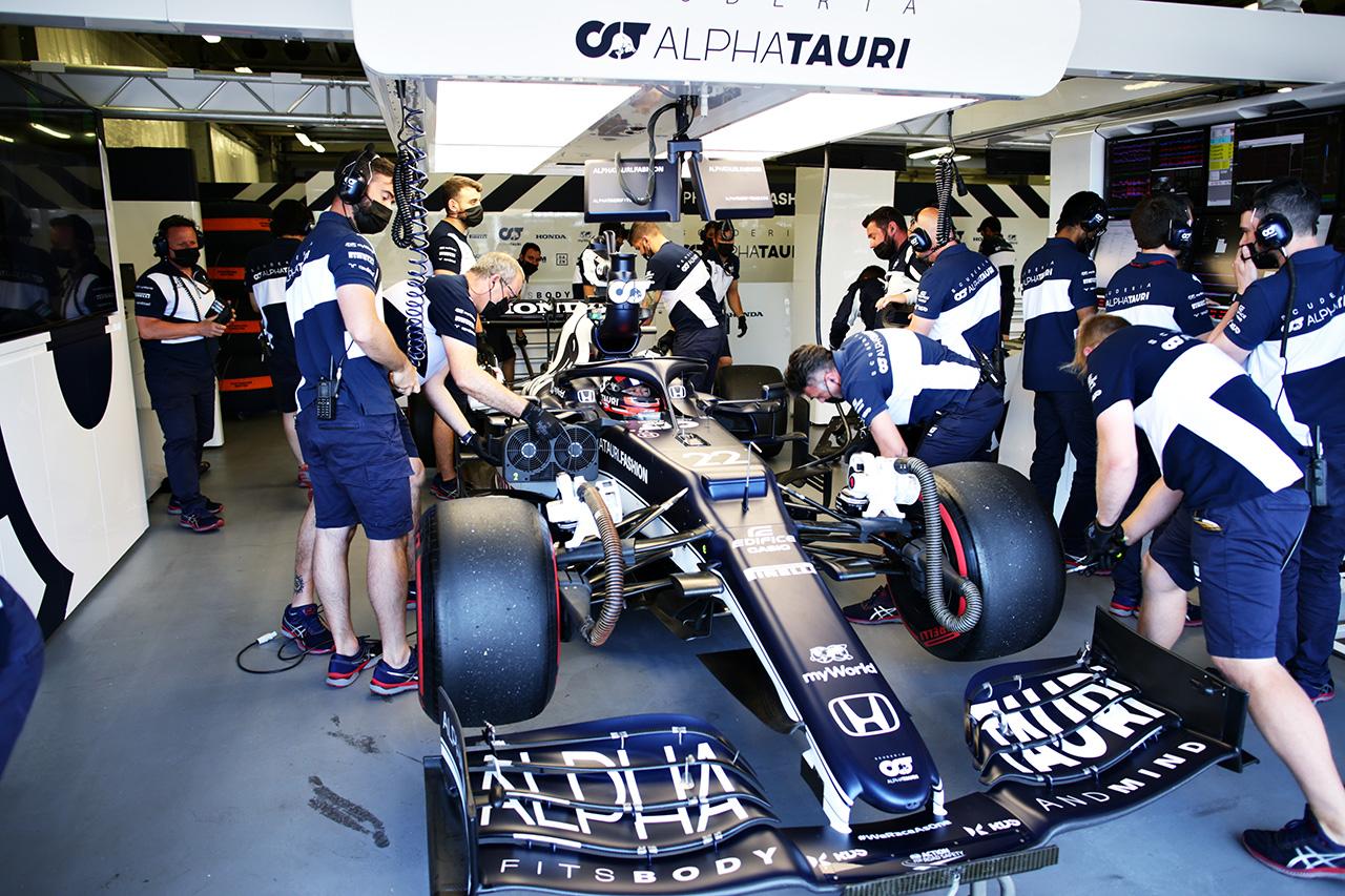 【速報】 F1アゼルバイジャンGP 予選Q2:角田裕毅が4番手でQ3初進出!