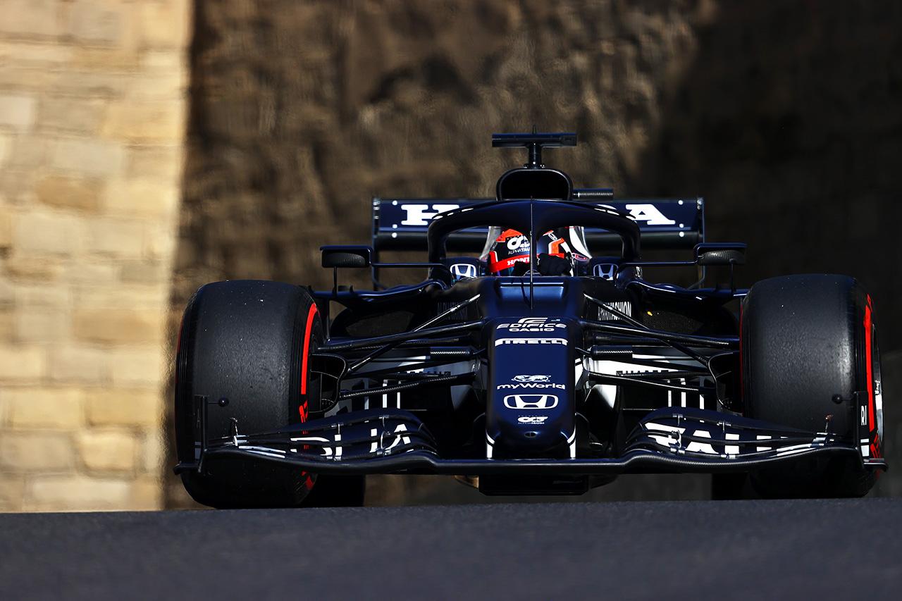 【速報】 F1アゼルバイジャンGP 予選 結果:フェルスタッペン3番手。角田裕毅はクラッシュで8番手