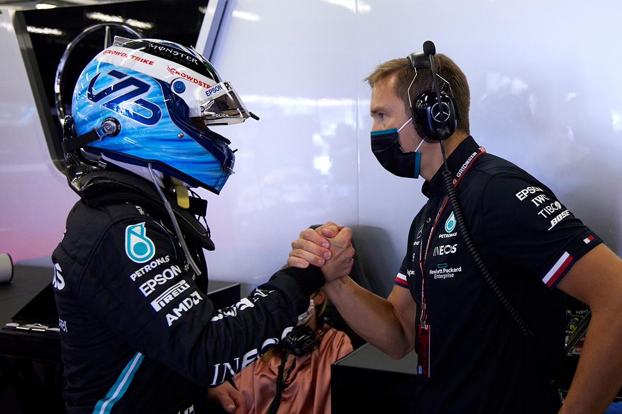 バルテリ・ボッタス 「やっぱり何かがおかしい。全力だった」 / メルセデス F1アゼルバイジャンGP 予選