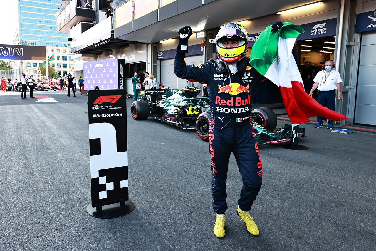 【速報】 F1アゼルバイジャンGP 決勝結果:セルジオ・ペレスが優勝!ガスリー3位表彰台!角田裕毅7位入賞!