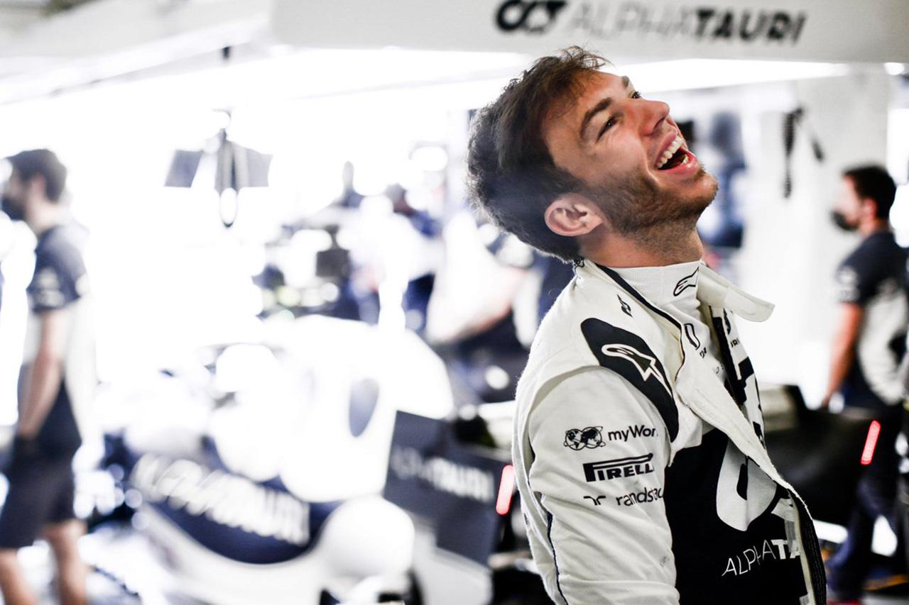 ピエール・ガスリー、4番グリッド獲得 「僕たちにとって素晴らしい一日」 / アルファタウリ・ホンダ F1アゼルバイジャンGP 予選