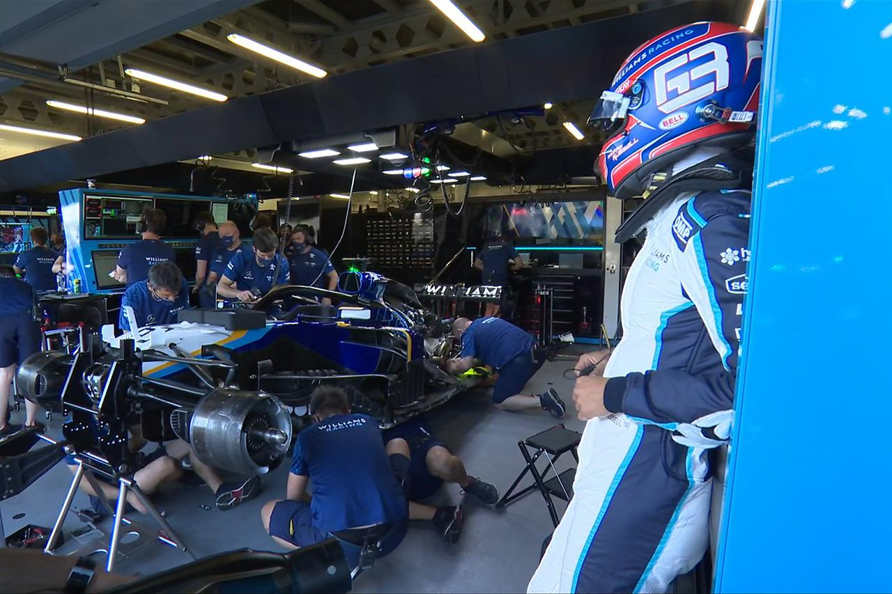 ジョージ・ラッセル 「時間内にPUを交換してくれたメカニックに感謝」 / ウィリアムズ F1アゼルバイジャンGP 予選