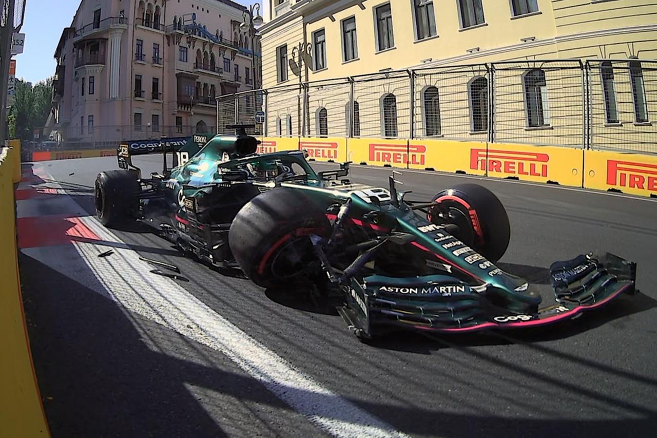ランス・ストロール 「ターン15はオフキャンバーでチャレンジング」 / アストンマーティン F1アゼルバイジャンGP 予選