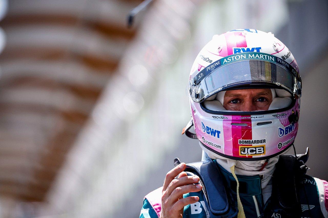 セバスチャン・ベッテル 「ターン15でロックしたことでQ3を逃した」 / アストンマーティン F1アゼルバイジャンGP 予選