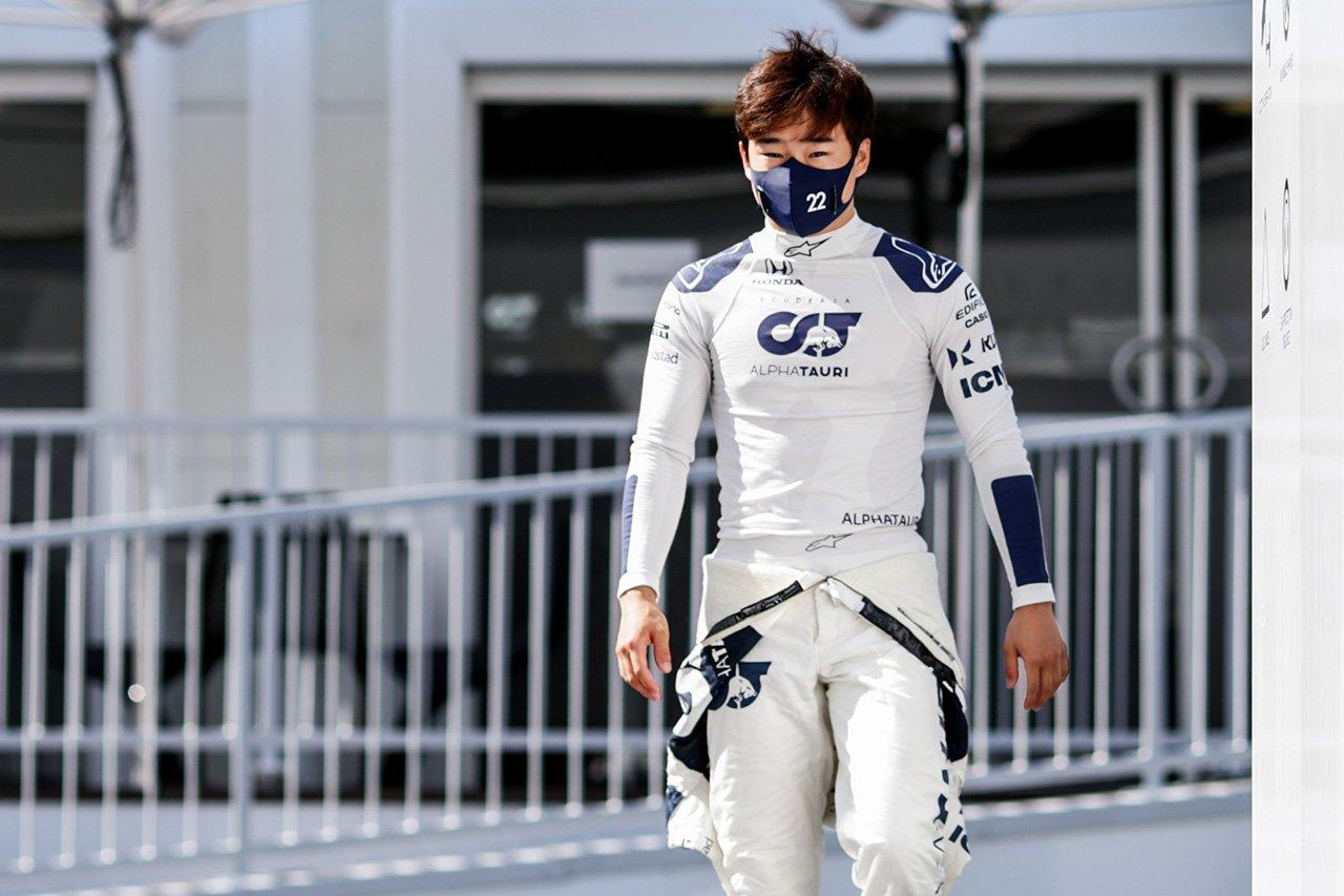 角田裕毅、Q3初進出もクラッシュ 「複雑な気分。もっと上位を狙えた」 / アルファタウリ・ホンダ F1アゼルバイジャンGP 予選