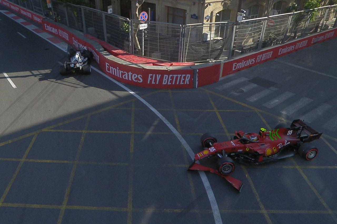 角田裕毅 「ブレーキが遅すぎて壁にクラッシュしてしまった」 / アルファタウリ・ホンダ F1アゼルバイジャンGP 予選
