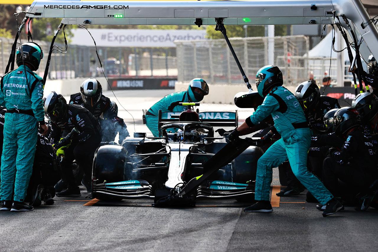 普通に戦って12位…バルテリ・ボッタス 「大きな問題はフロントタイヤのウォームアップ」 / メルセデス F1アゼルバイジャングランプリGP 決勝
