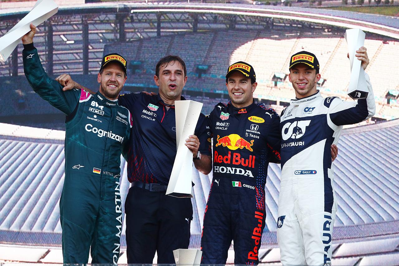 F1アゼルバイジャンGP 決勝:トップ10 ドライバーコメント