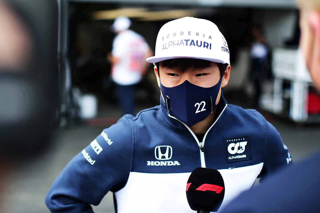 角田裕毅 F1アゼルバイジャンGP レース後インタビュー 「すべてがステップアップできた」