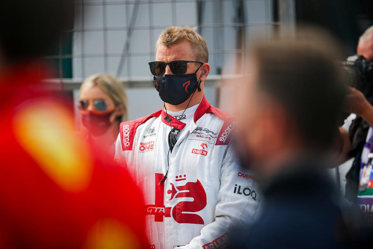 キミ・ライコネン、今季初ポイント「ラスト2周まで何もないレースだった」 / アルファロメオ F1アゼルバイジャンGP 決勝