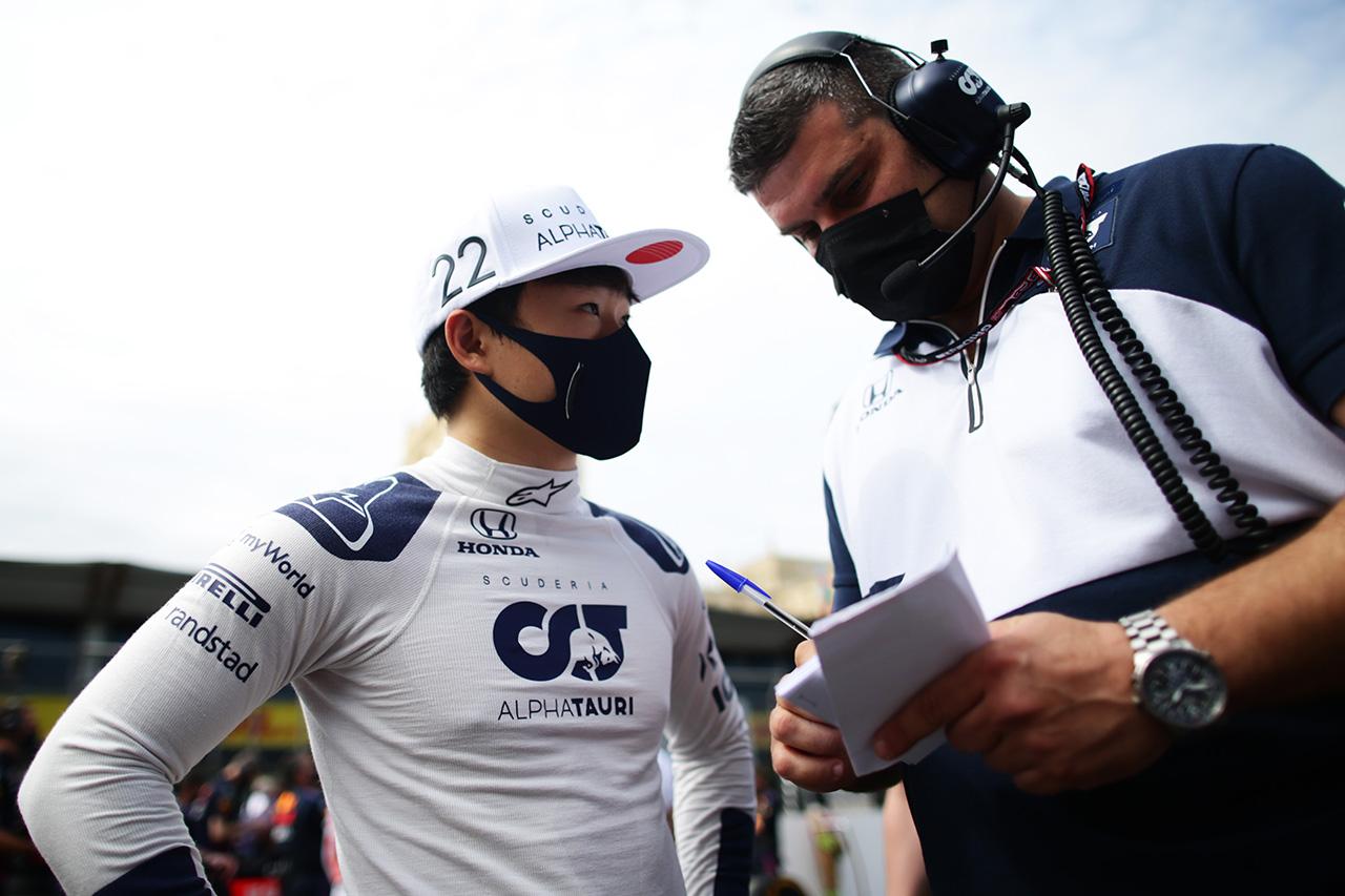 角田裕毅、F1自己最高順位の7位も「結果には少しフラストレーション」 / アルファタウリ・ホンダ F1アゼルバイジャンGP 決勝