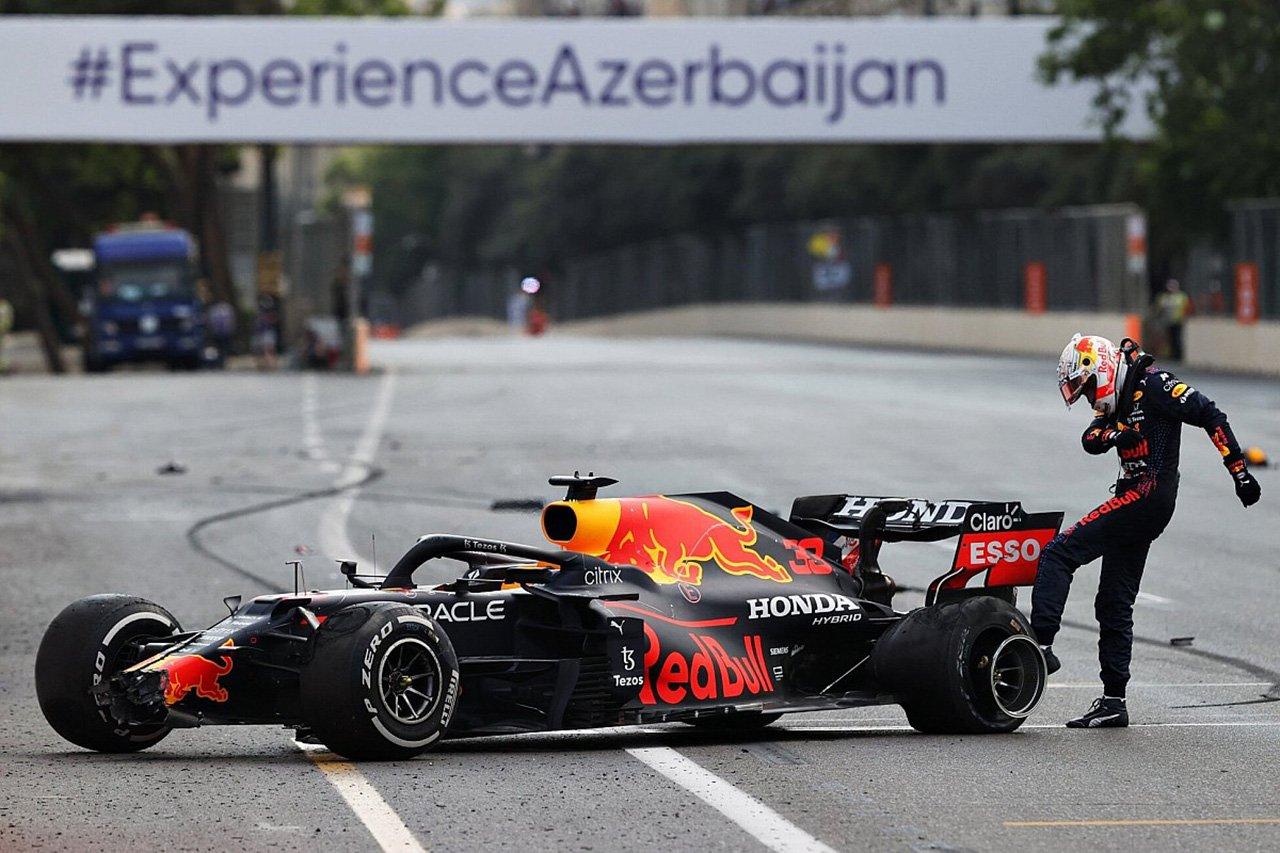 マックス・フェルスタッペン 「デブリだと説明されるのは分かっていた」 / F1アゼルバイジャンGP 決勝