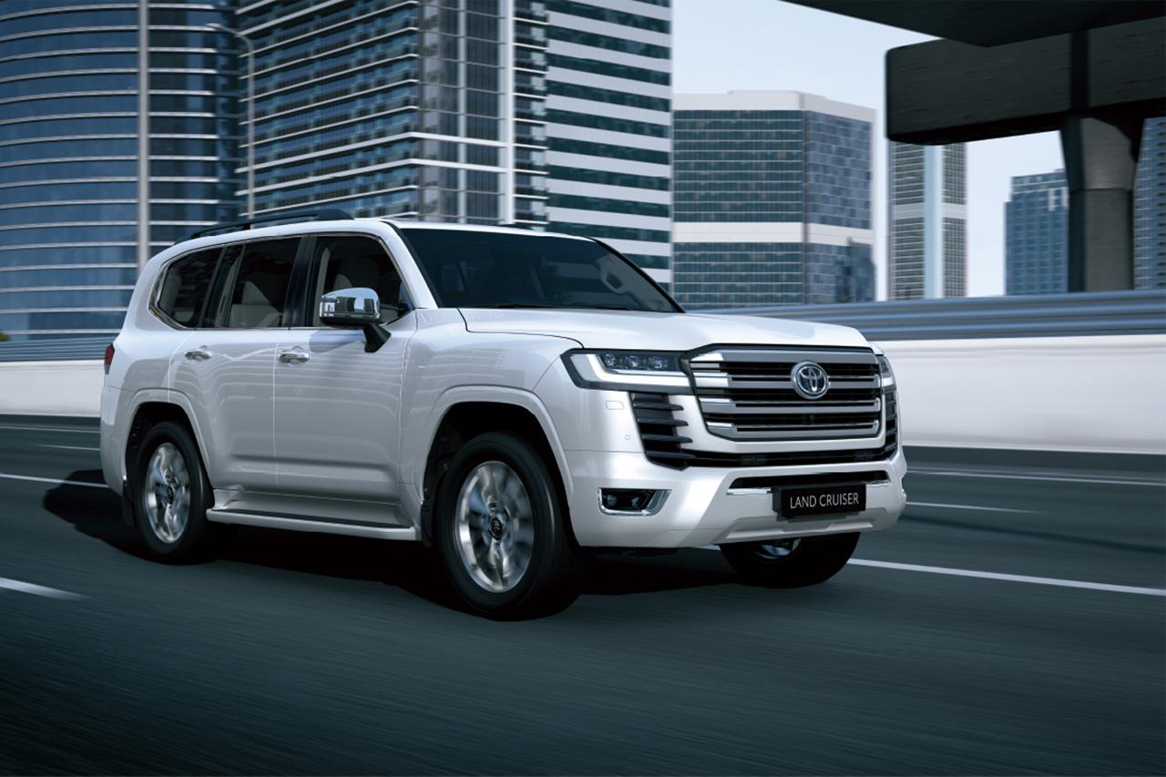 トヨタ、新型ランドクルーザーを世界初公開