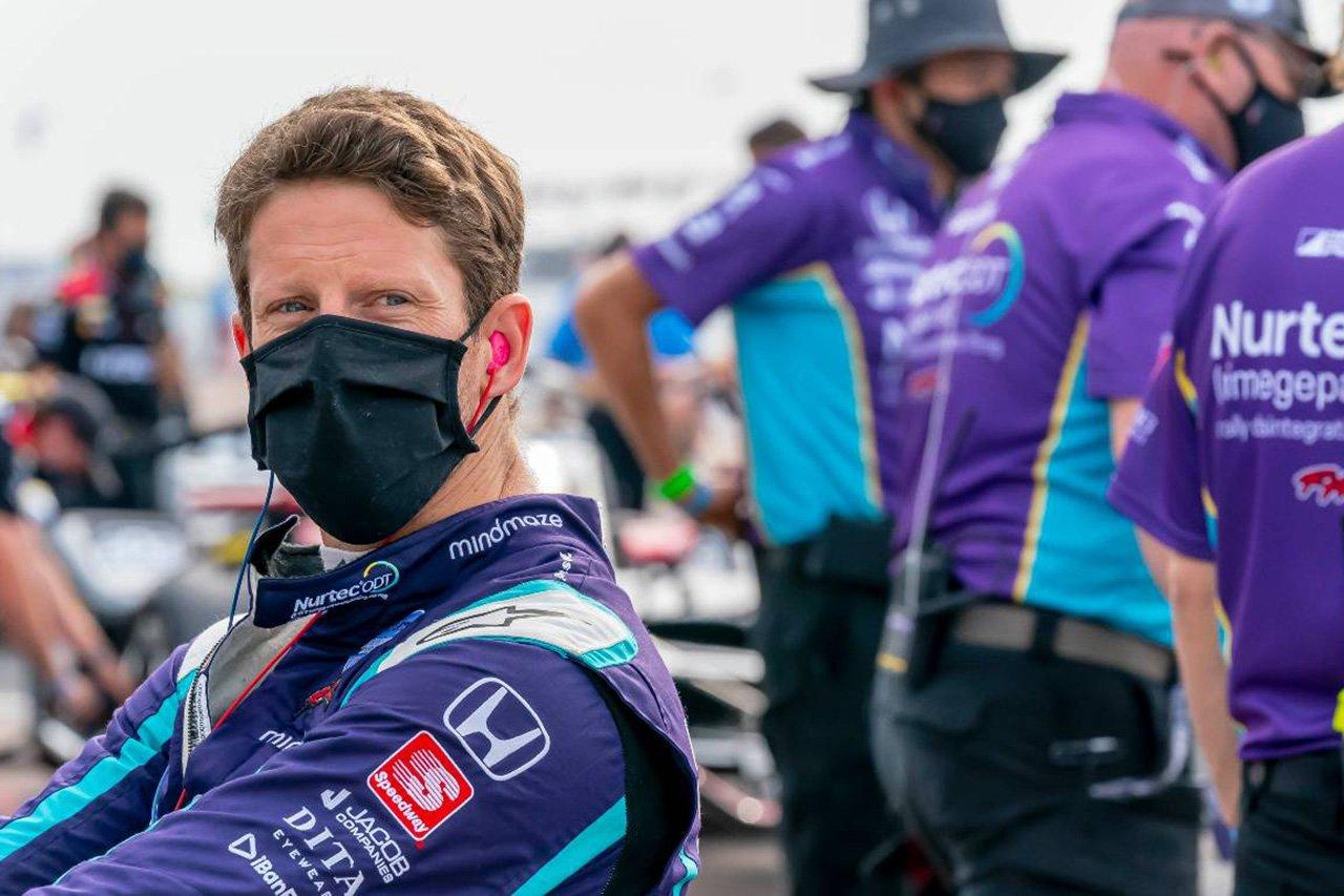 元F1ドライバーのロマン・グロージャン、インディ500に触発されてオーバル出場を決意