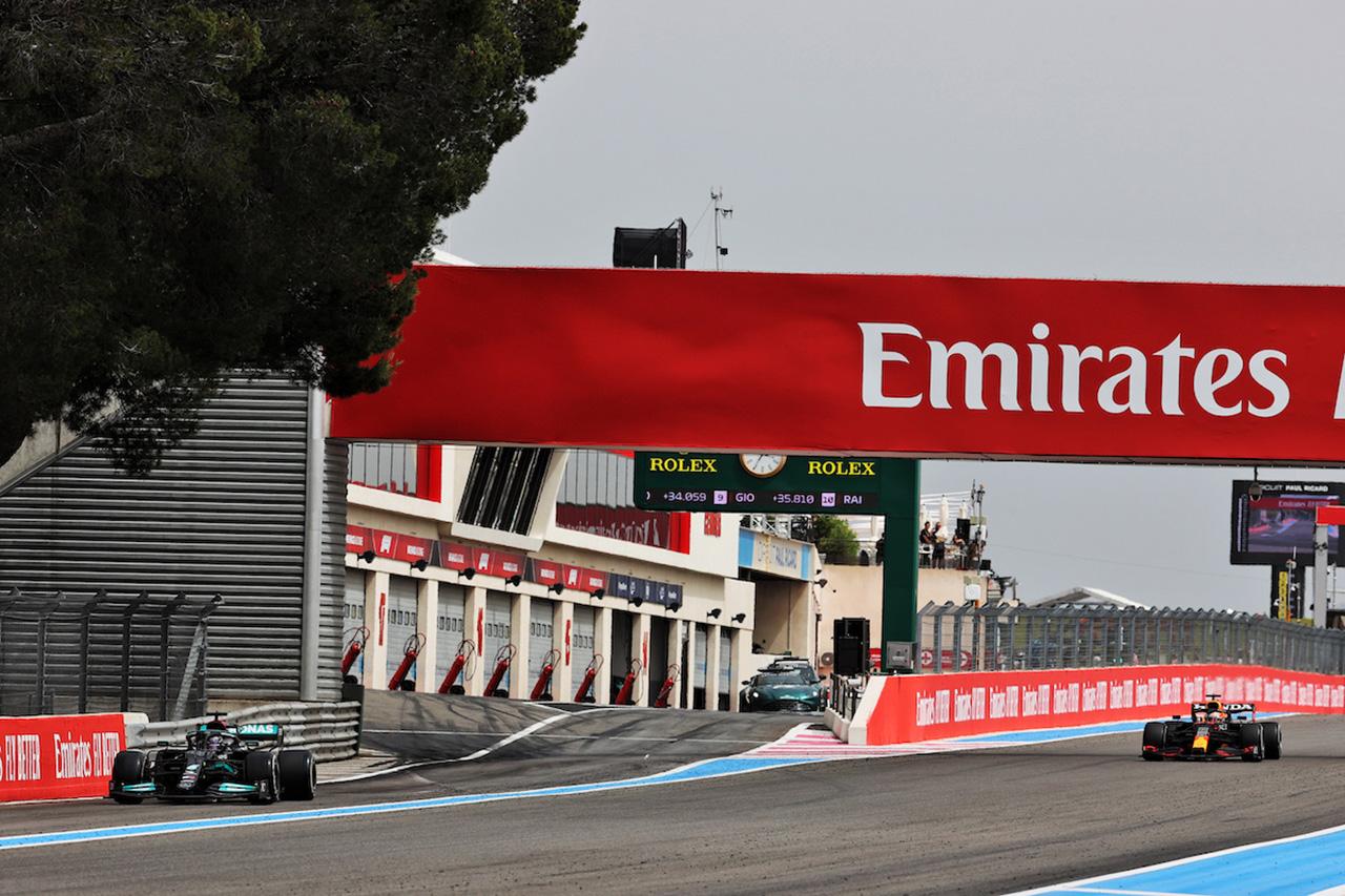 マックス・フェルスタッペン 「ハミルトンをアンダーカットできるとは思わなかった」 F1フランスGP 決勝