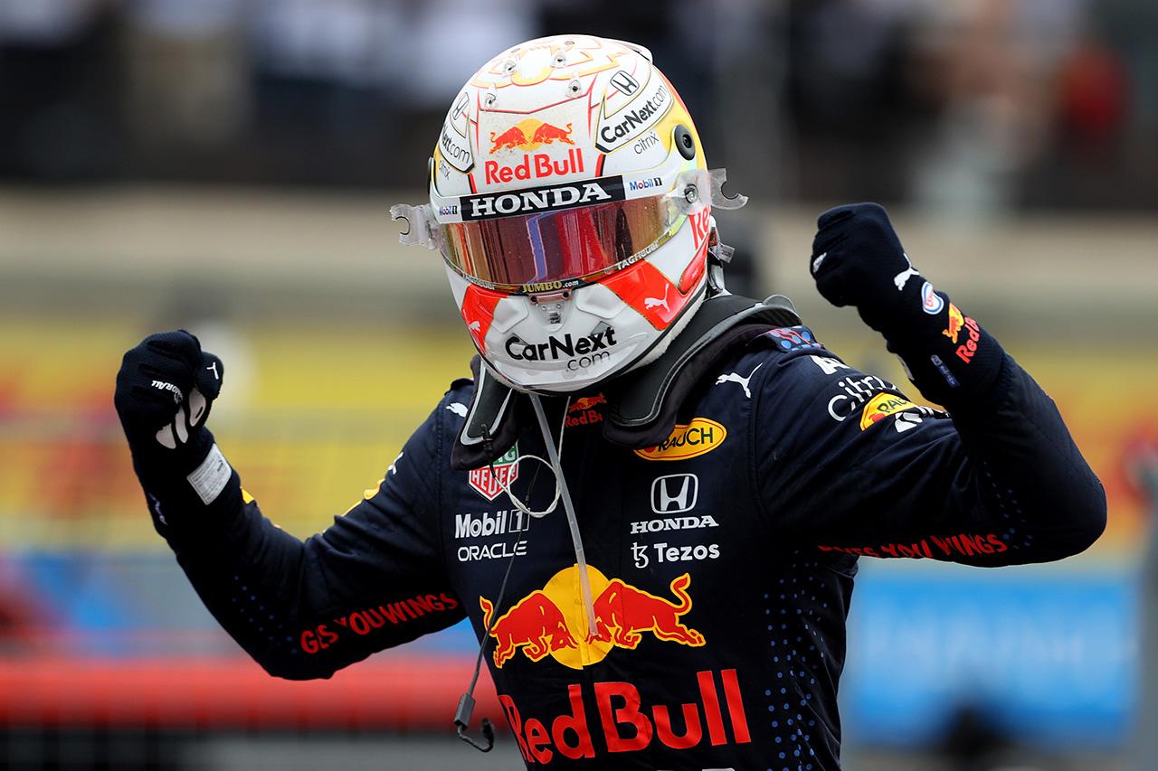 マックス・フェルスタッペン 「チームの素晴らしい努力による勝利」 / レッドブル・ホンダ F1フランスGP 結果