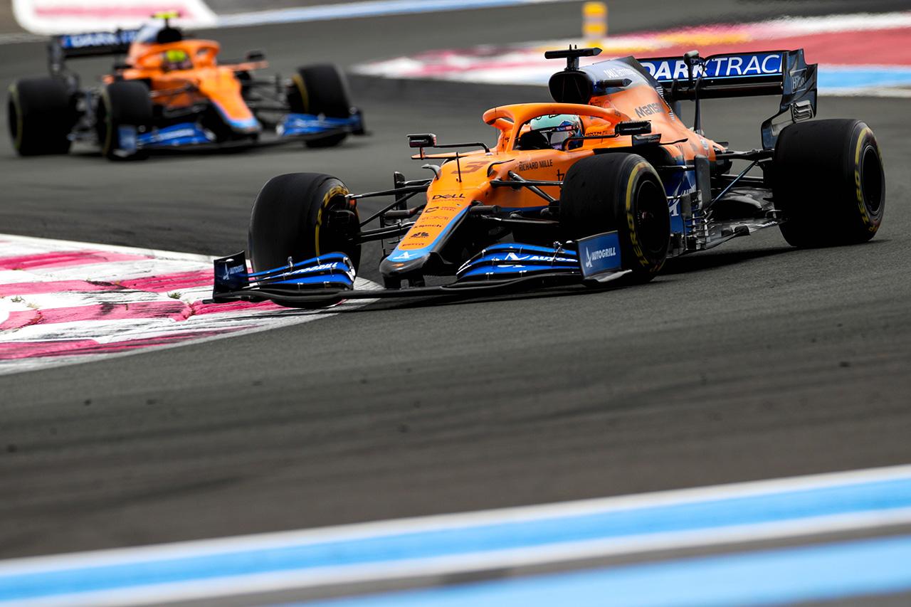 マクラーレンF1、ダブル入賞でランキング3位奪還「ドリームレース」 / F1フランスGP 決勝