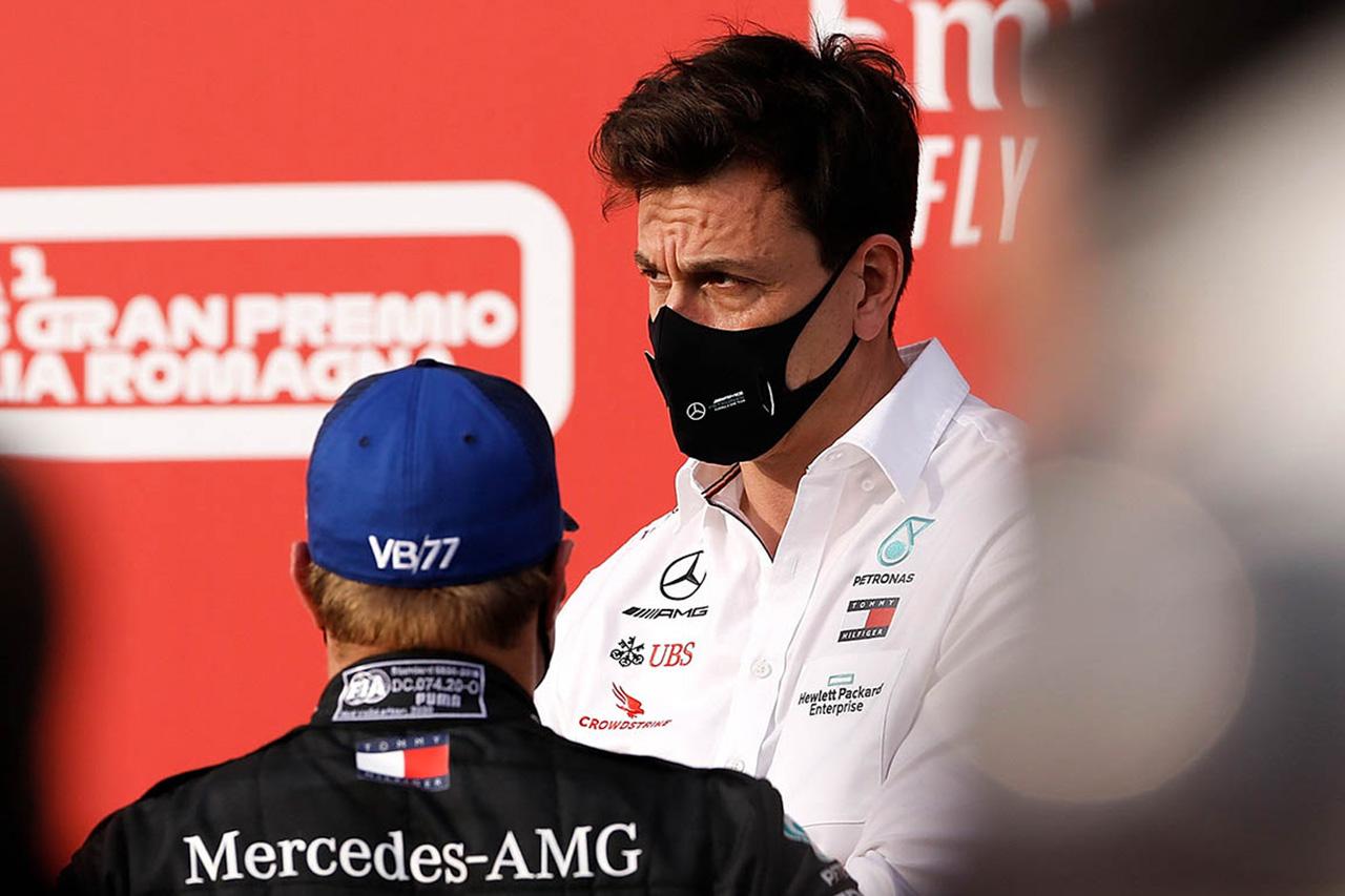 メルセデスF1代表、ボッタスの不満を逆に歓迎 「ついに批判し始めた!」