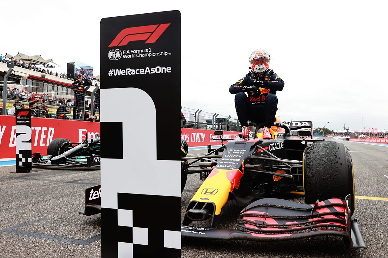 レッドブルF1代表 「バルセロナの二の舞は避けるために勝負に出た」 / F1フランスGP 決勝