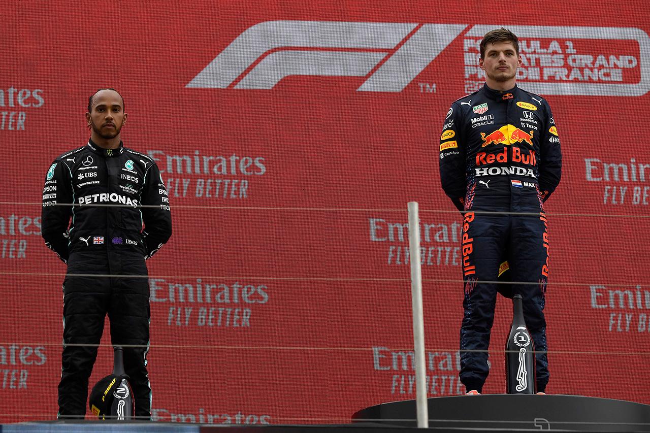 優勝のフェルスタッペン 「残りのシーズもこのような戦いが続くと思う」 / F1フランスGP 決勝