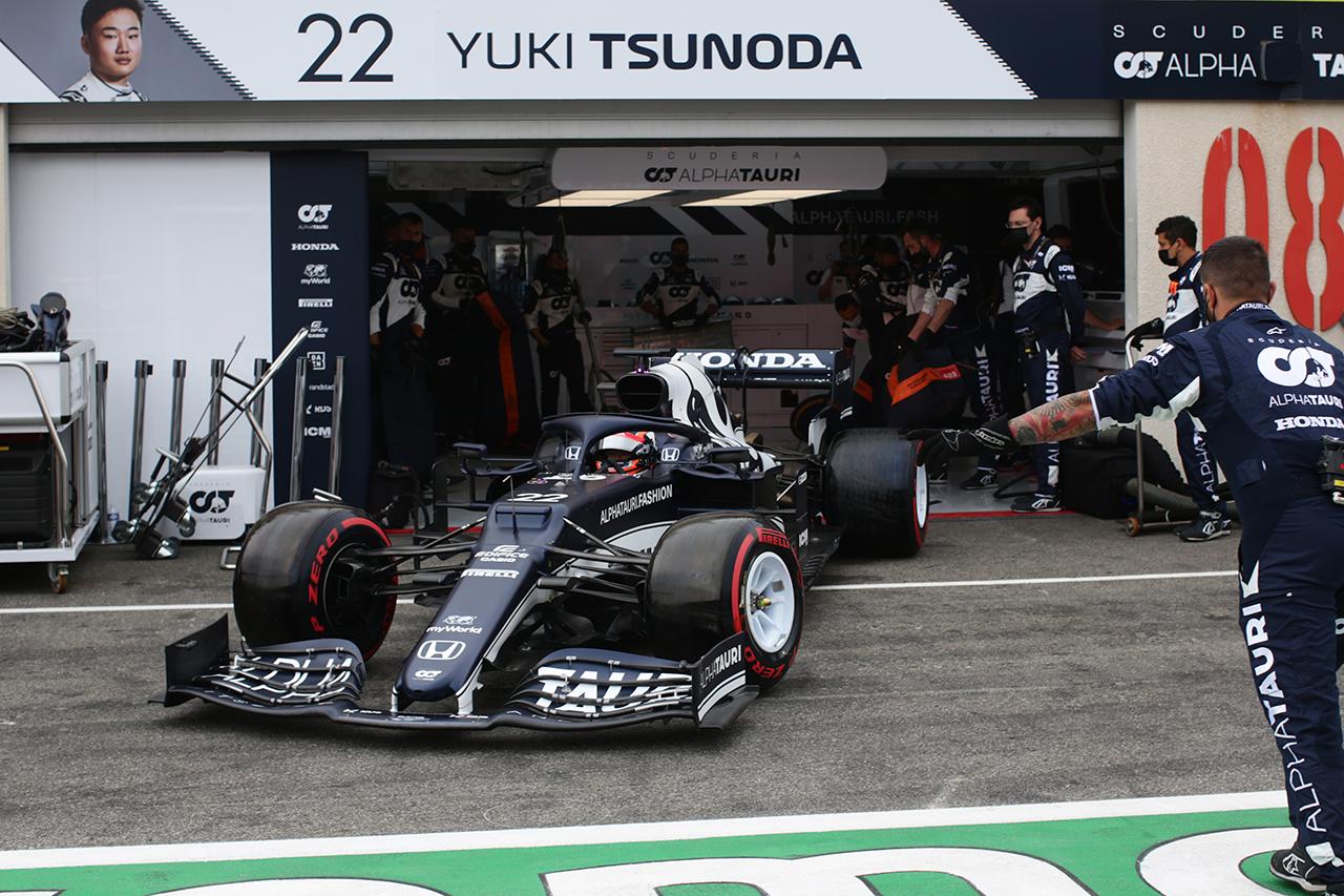 角田裕毅、7つ順位を上げるも無得点「予選に取り組んでいく必要がある」 / F1フランスGP 決勝
