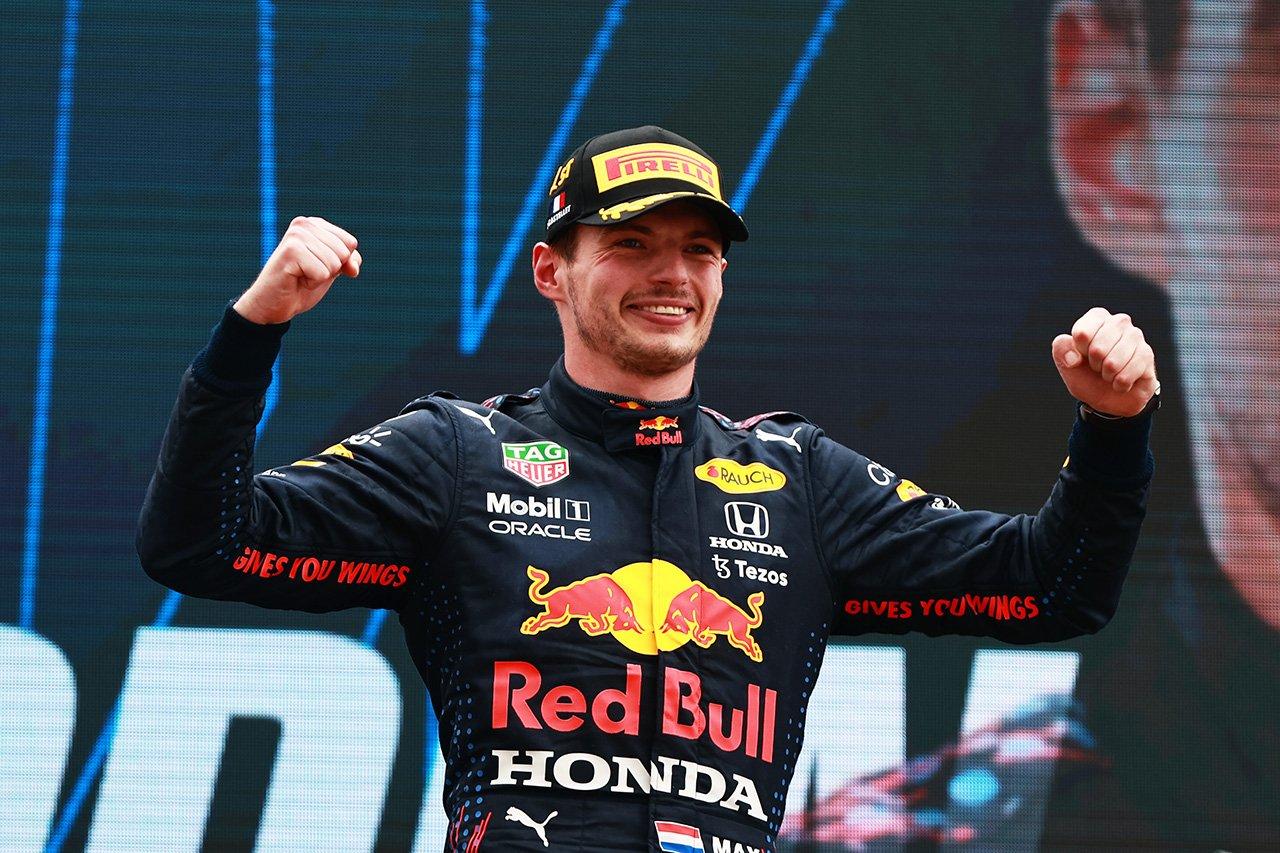 """【Fact and Stats】 マックス・フェルスタッペン、意外にも""""ハットトリック""""はF1キャリア初 / 2021年F1フランスGP"""