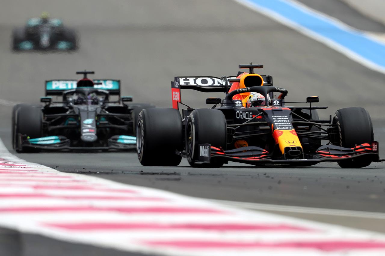 メルセデスF1 「レッドブル・ホンダより速いマシンで負けた」 / F1フランスGP 決勝