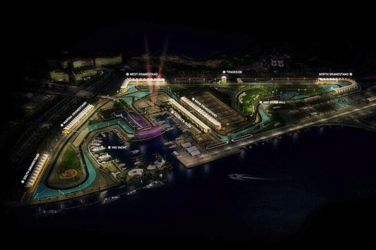ヤス・マリーナ・サーキット、新レイアウトの画像を公開 / 2021年 F1アブダビGP