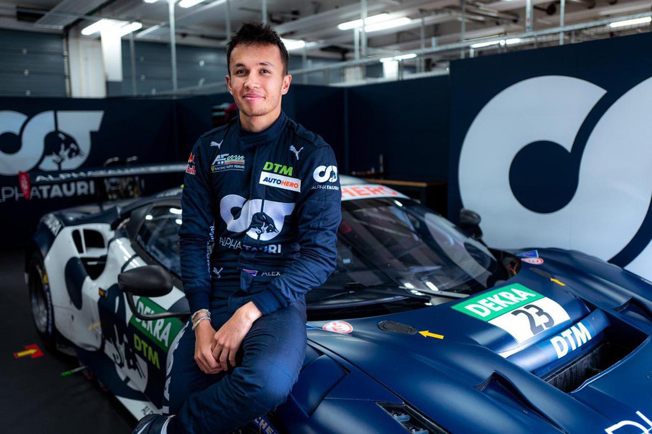 アレクサンダー・アルボン 「F1に戻るために110%で頑張っている」