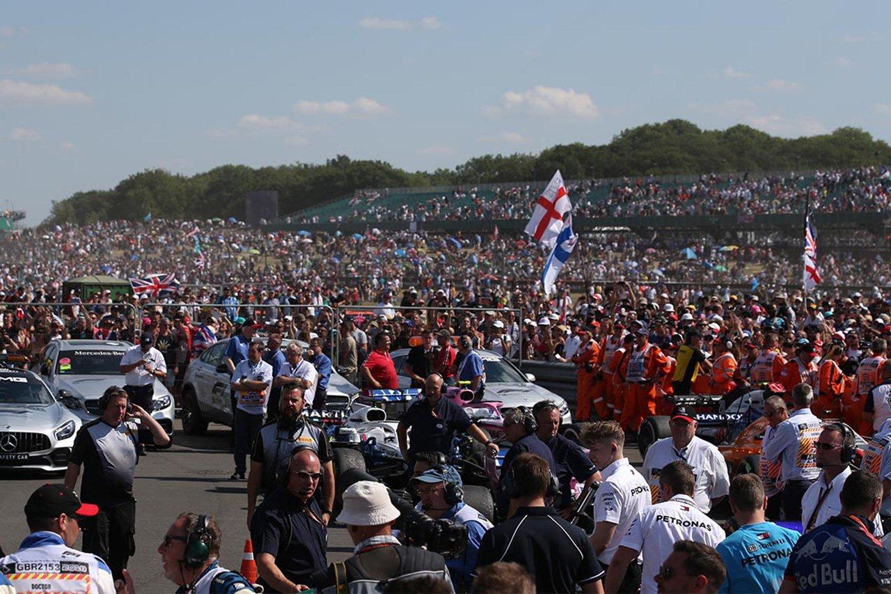 F1イギリスGP、満員の観客入場を決定 / 2021年 F1世界選手権