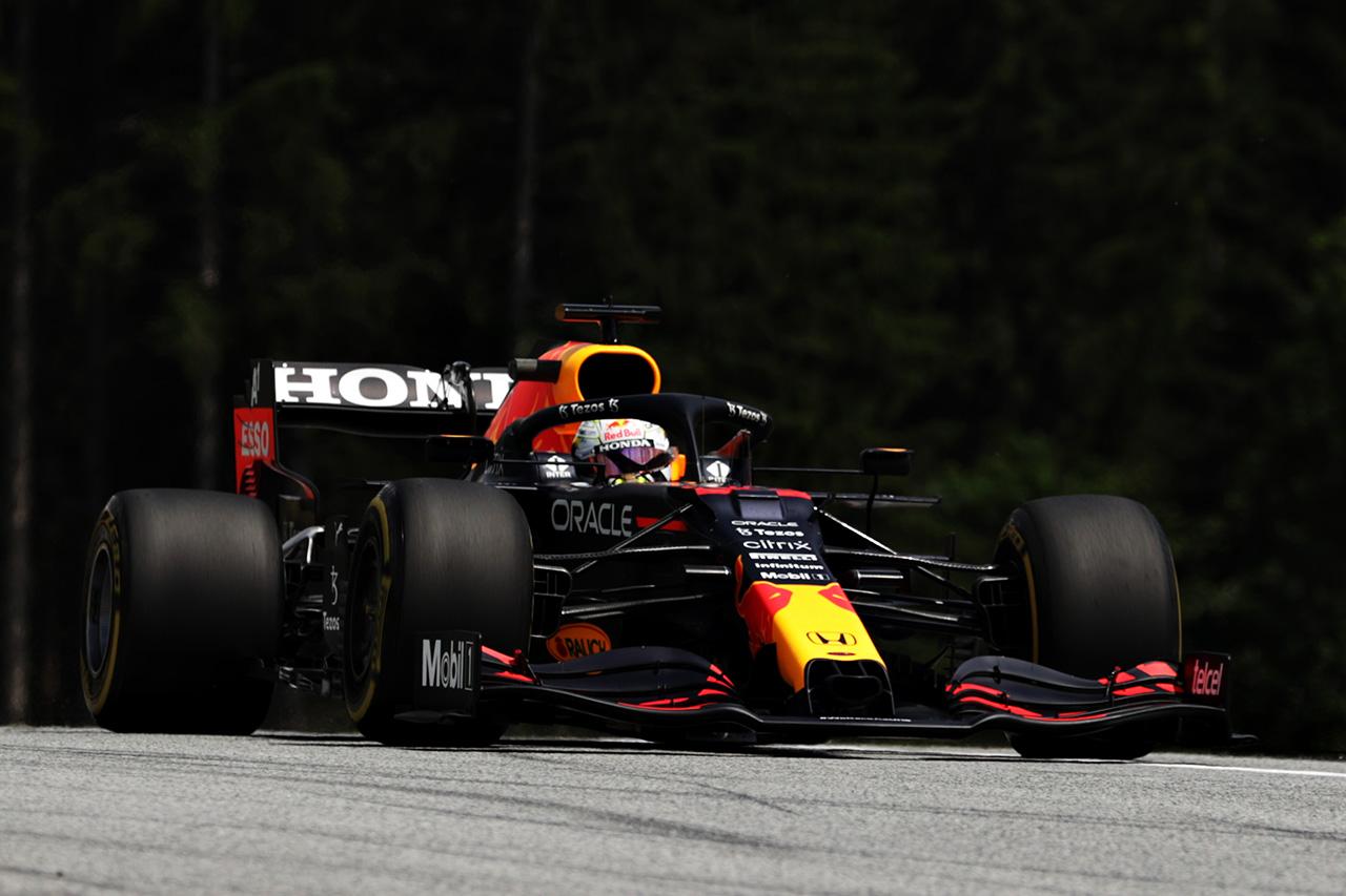 F1シュタイアーマルクGP フリー走行1:フェルスタッペンが首位発進。2番手にガスリーとホンダF1勢が好調