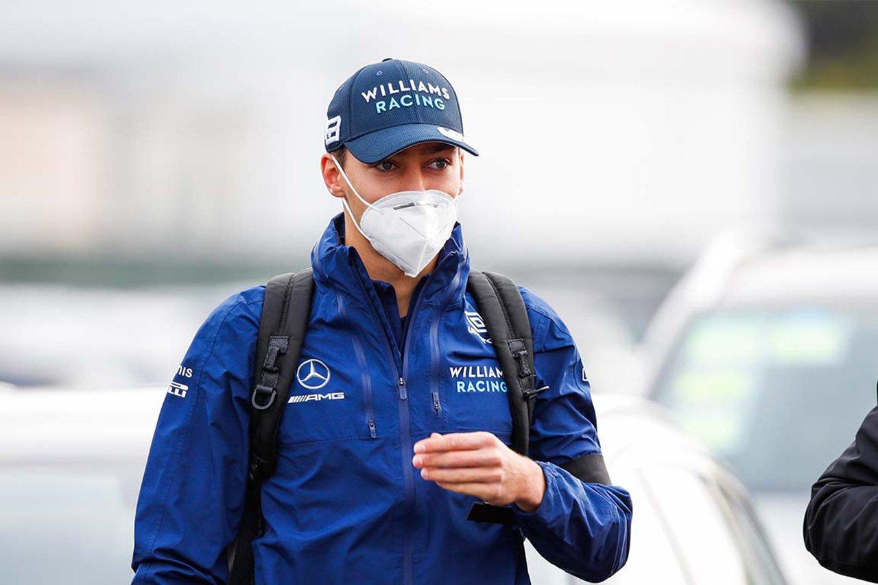 ジョージ・ラッセル 「メルセデスともウィリアムズとも来季の話はしてない」 / F1シュタイナーマルクGP 記者会見