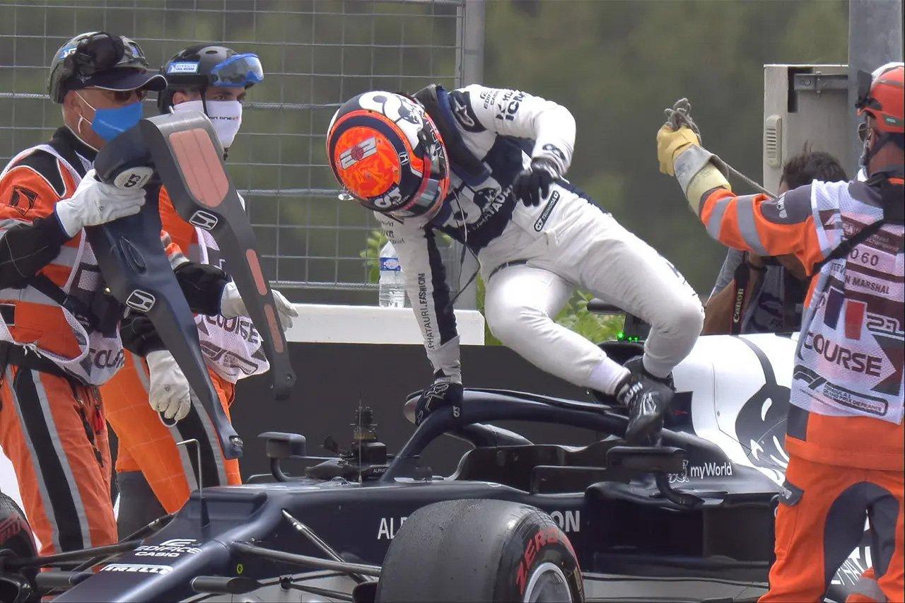 角田裕毅、全F1ドライバーで2番目に高額なマシン修理代