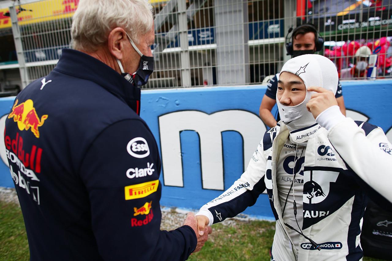 角田裕毅 「ヘルムート・マルコとの電話が楽しい会話になるとは思わない」 / F1シュタイアーマルクGP 記者会見