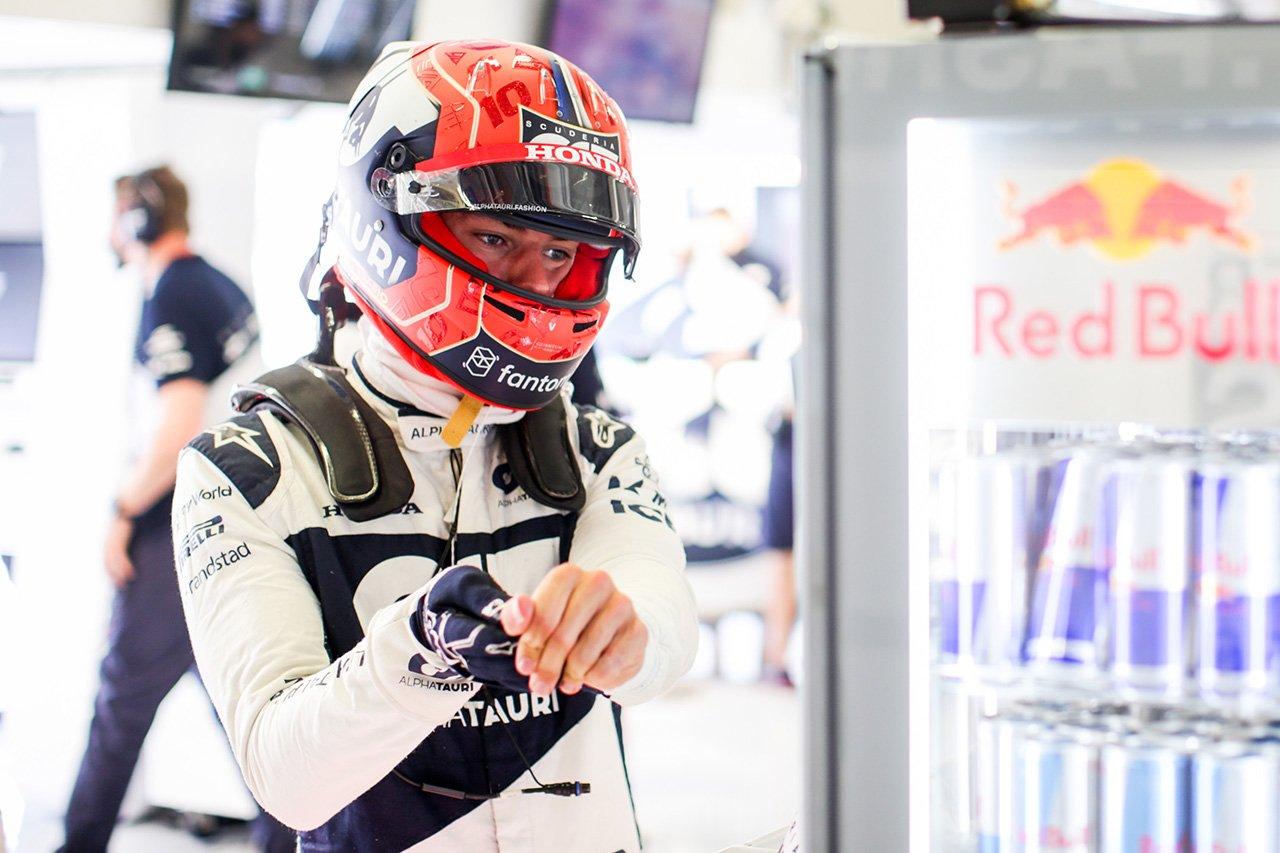 ピエール・ガスリー 「角田裕毅の走りも分析して予選までに仕上げたい」 / F1シュタイアーマルクGP 金曜フリー走行