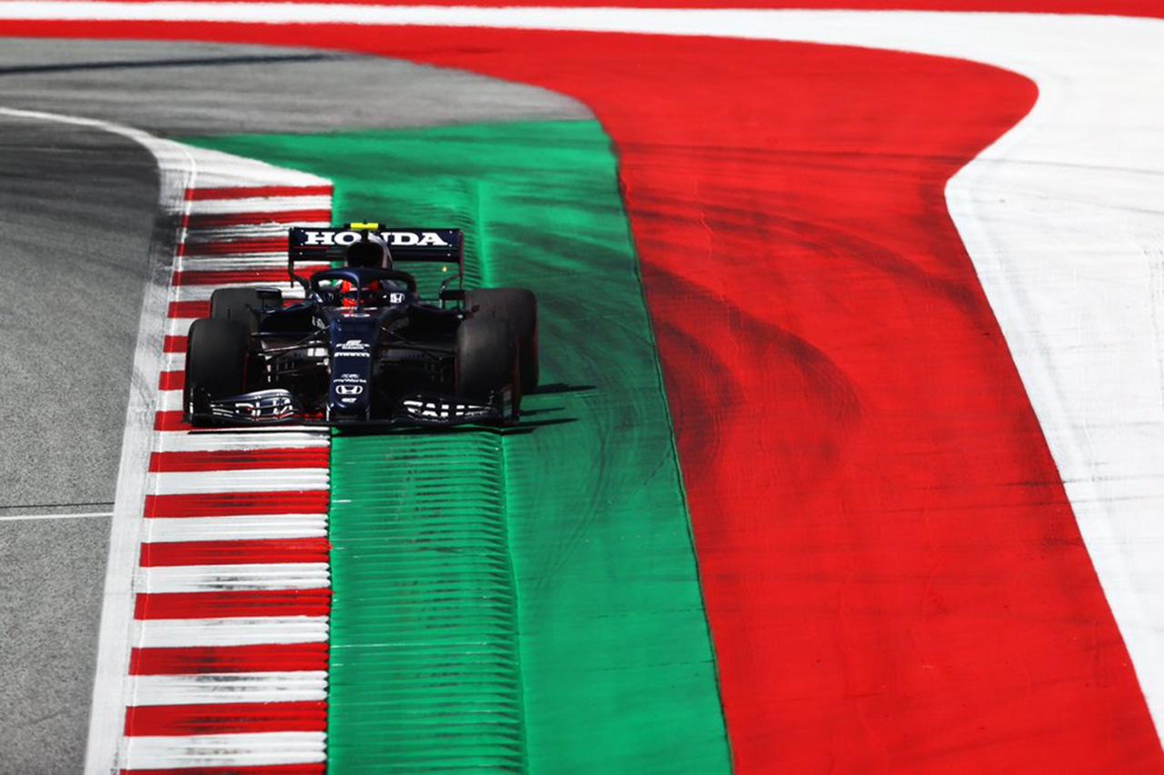 F1シュタイアーマルクGP 予選Q2:角田裕毅が2度目のQ3進出。ホンダF1勢全4台が通過