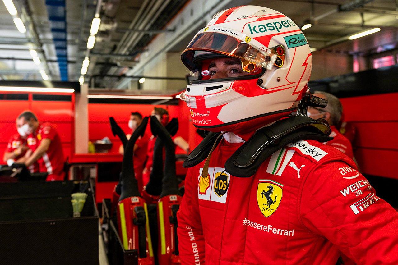 フェラーリF1のシャルル・ルクレール、予選7番手も「レースペースを犠牲にしたくなかった」 / F1シュタイアーマルクGP