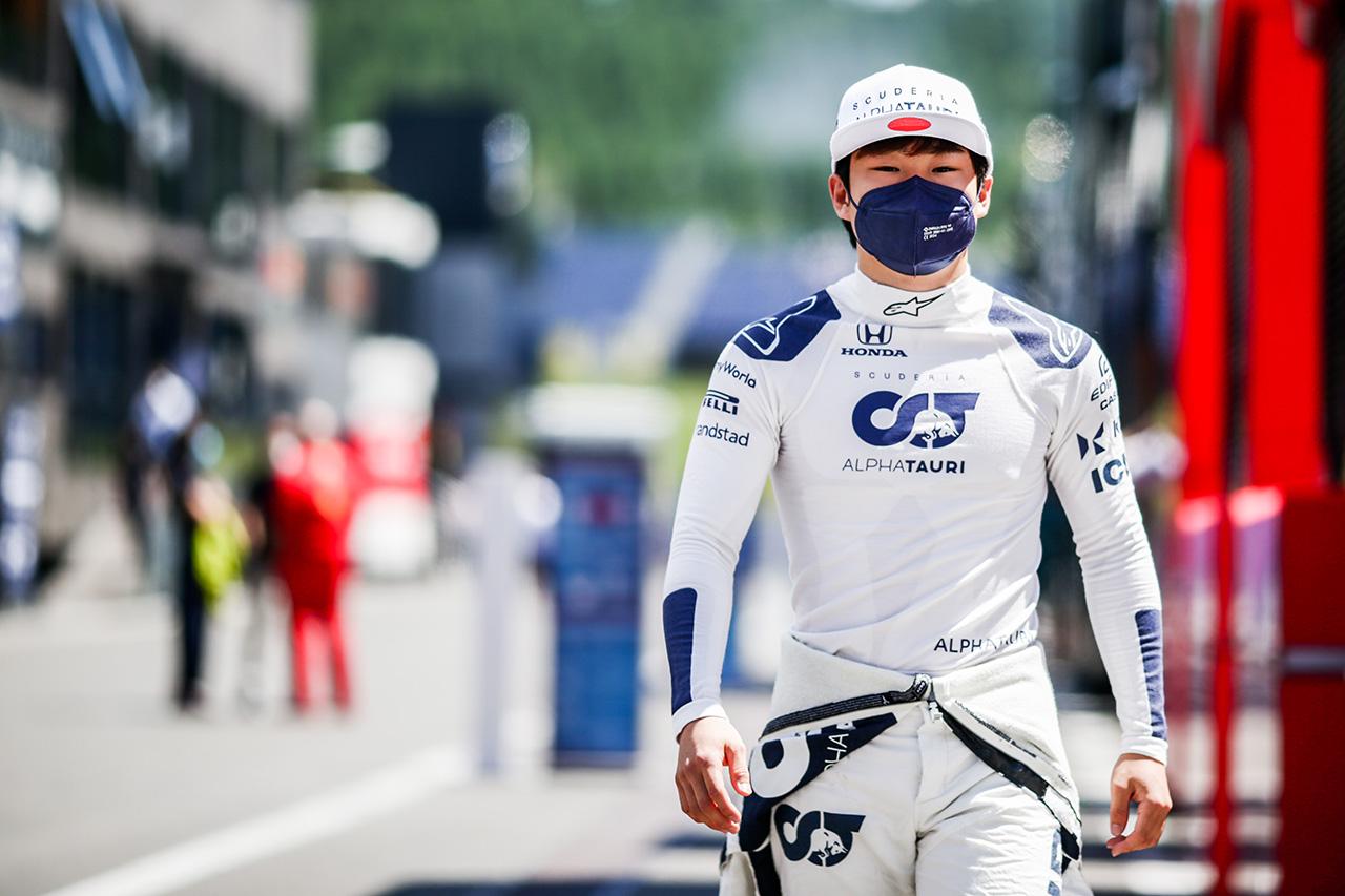 角田裕毅、無念の3グリッド降格も「正しい方向に進んでいると思う」 / F1シュタイアーマルクGP 予選