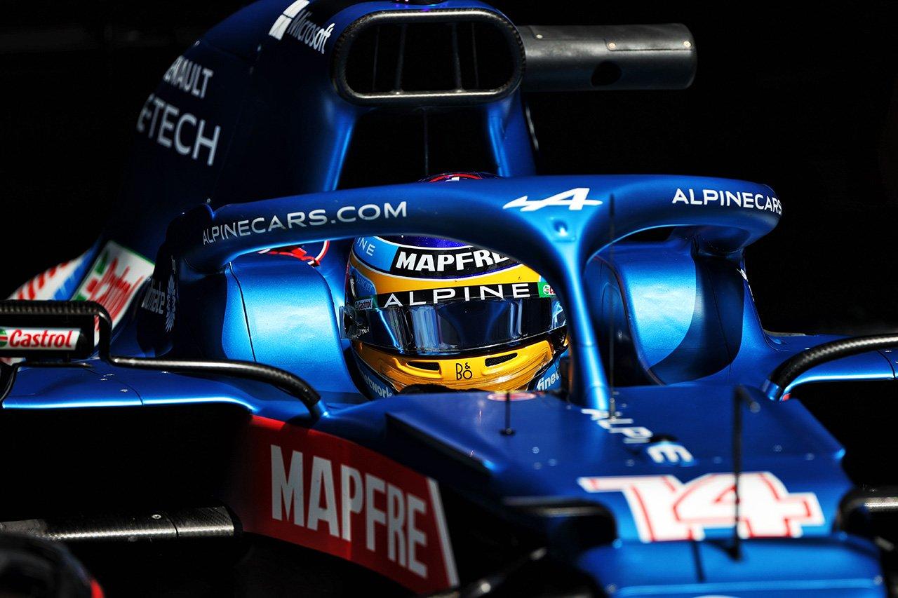 アルピーヌF1のフェルナンド・アロンソ 「今日は9位以上は難しかった。入賞できて満足」 / F1シュタイアーマルクGP 決勝