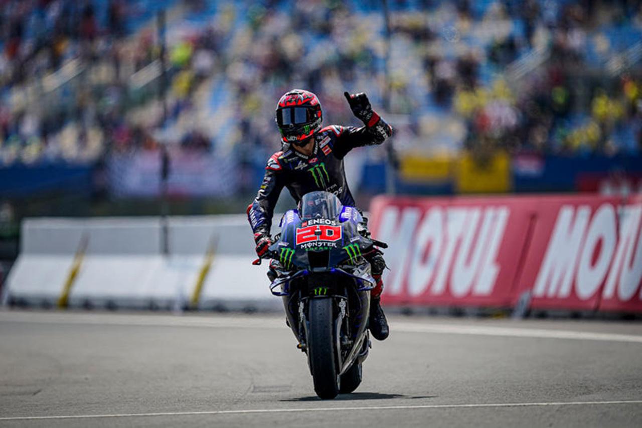 MotoGP 第9戦 オランダGP:ファビオ・クアルタラロが今季4勝目