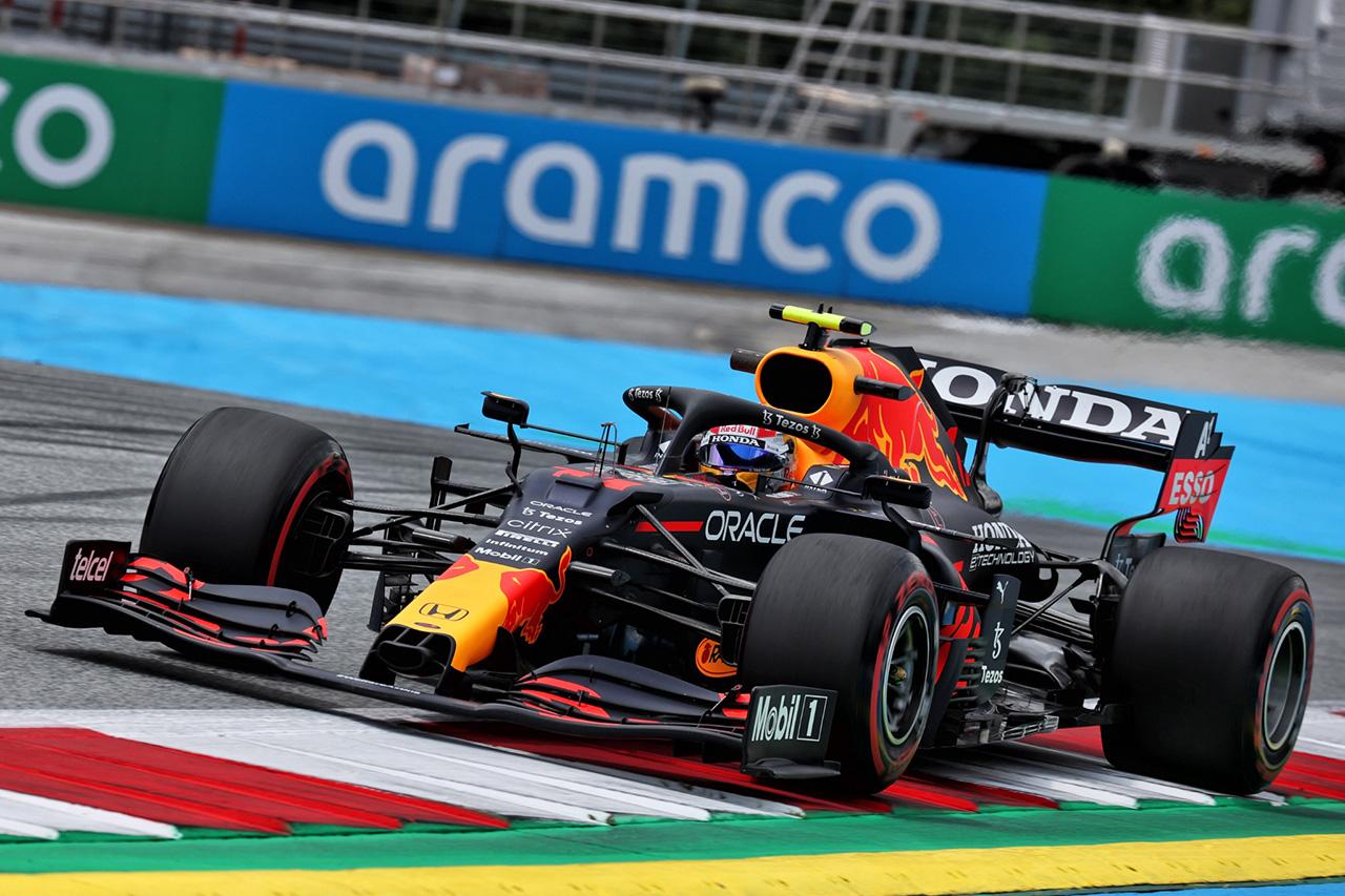 レッドブル・ホンダF1:セルジオ・ペレス 「2ストップ戦略へのへのスイッチは正しい判断」 / F1シュタイアーマルクGP