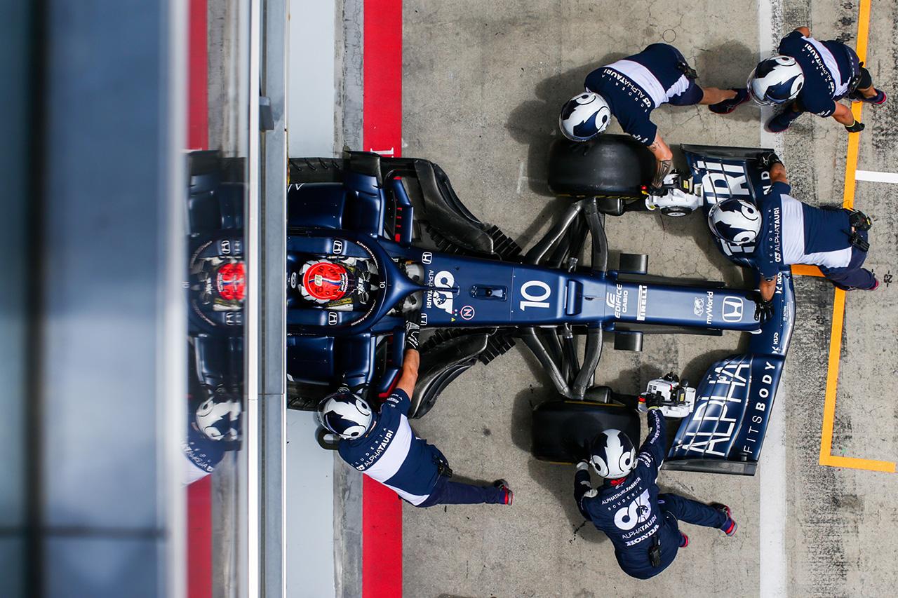 F1マシン解説:アルファタウリ AT02 - 最新トレンドのフロントウイング