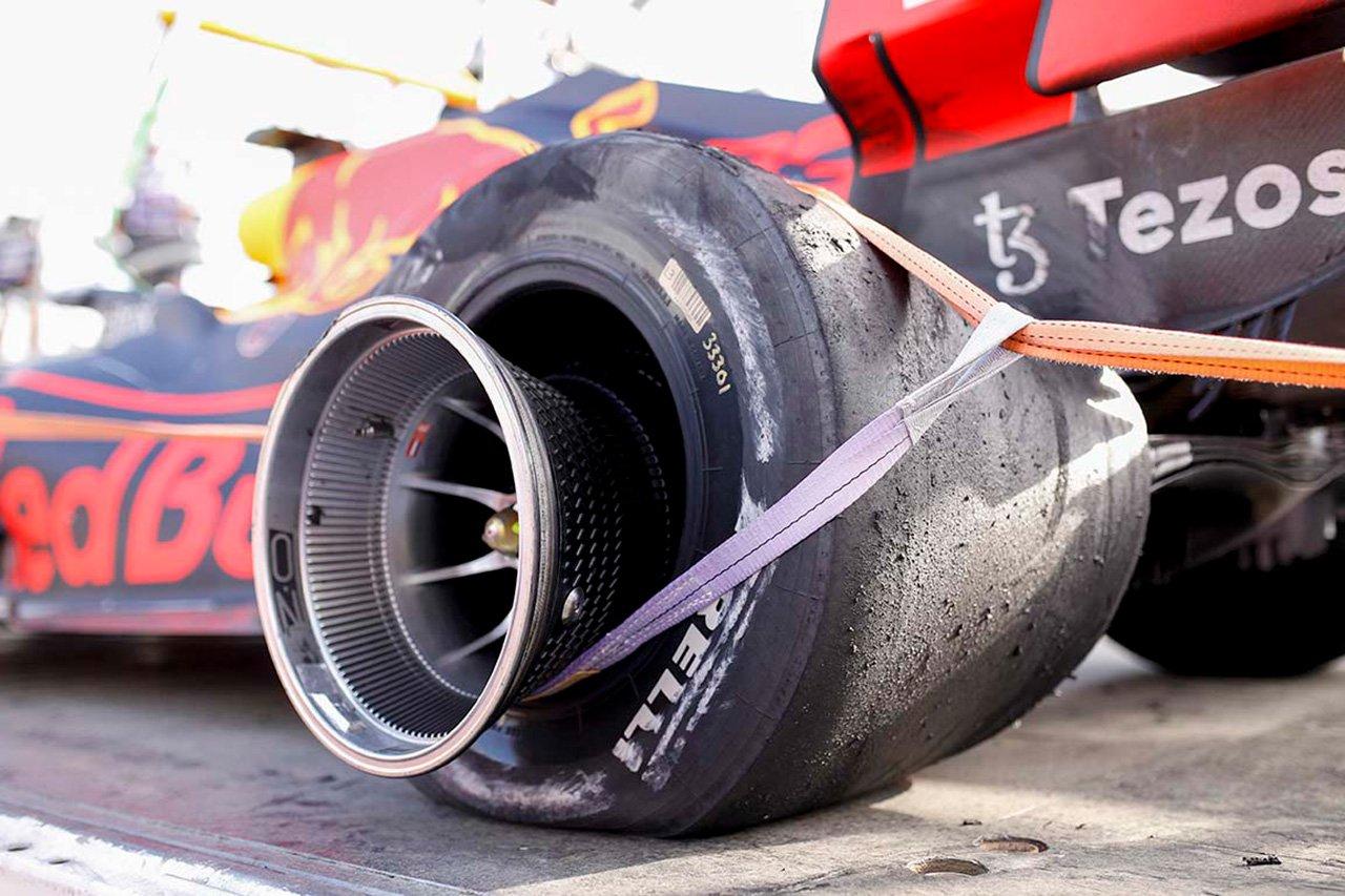 レッドブル・ホンダF1のマックス・フェルスタッペン 「安全なのになぜ新しいタイヤを導入するの?」