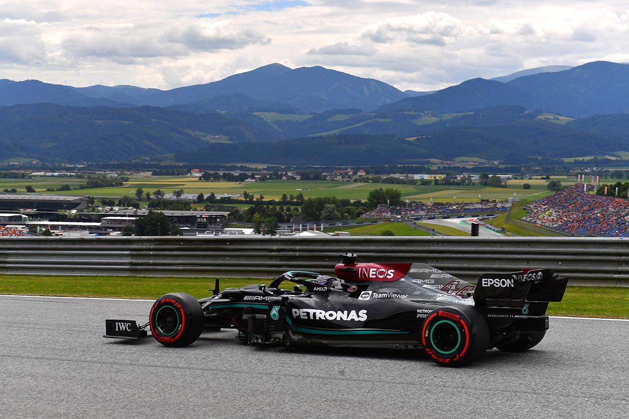 F1オーストリアGP 金曜フリー走行:トップ10 ドライバーコメント