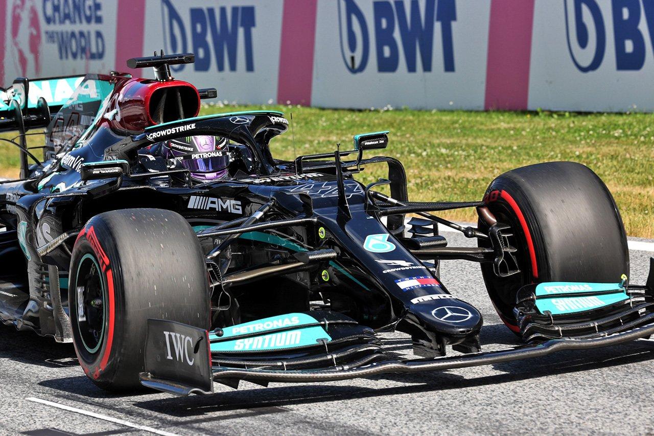 ルイス・ハミルトン、予選4位に「純粋なペースという点で優勝は問題外」 / F1オーストリアGP 予選