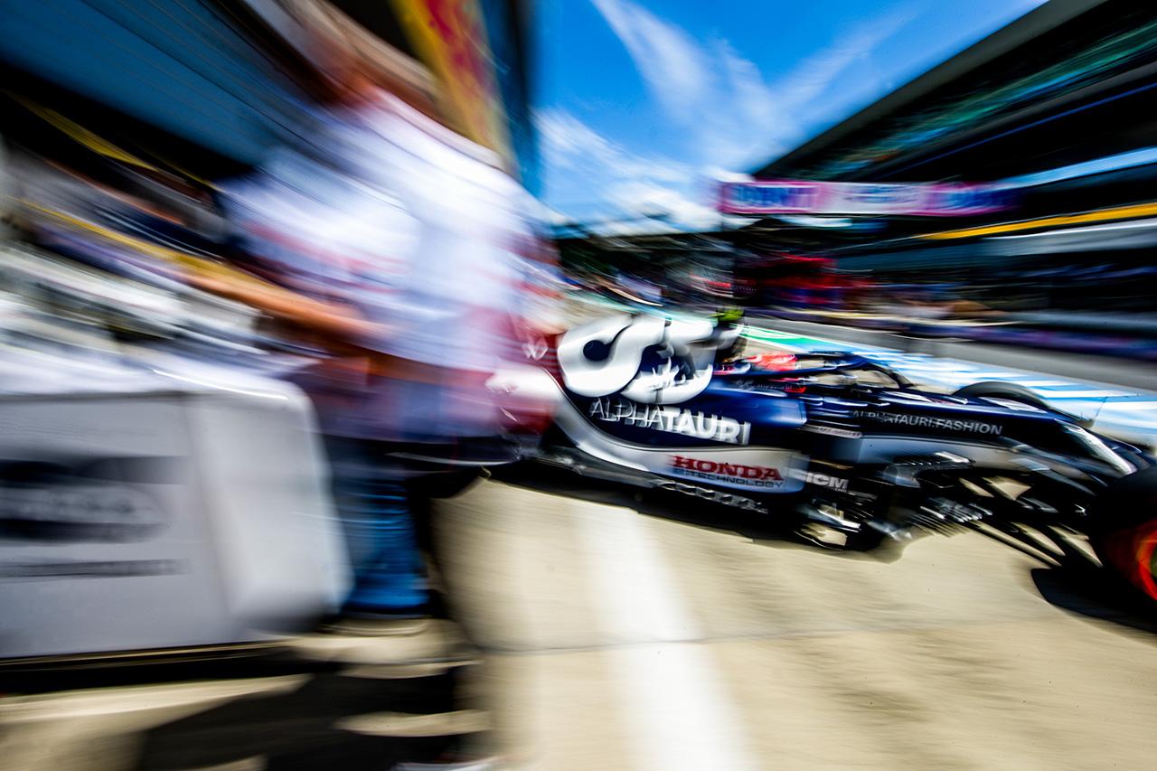 ピエール・ガスリー(アルファタウリ・ホンダ) / 2021年 F1オーストリアGP 予選