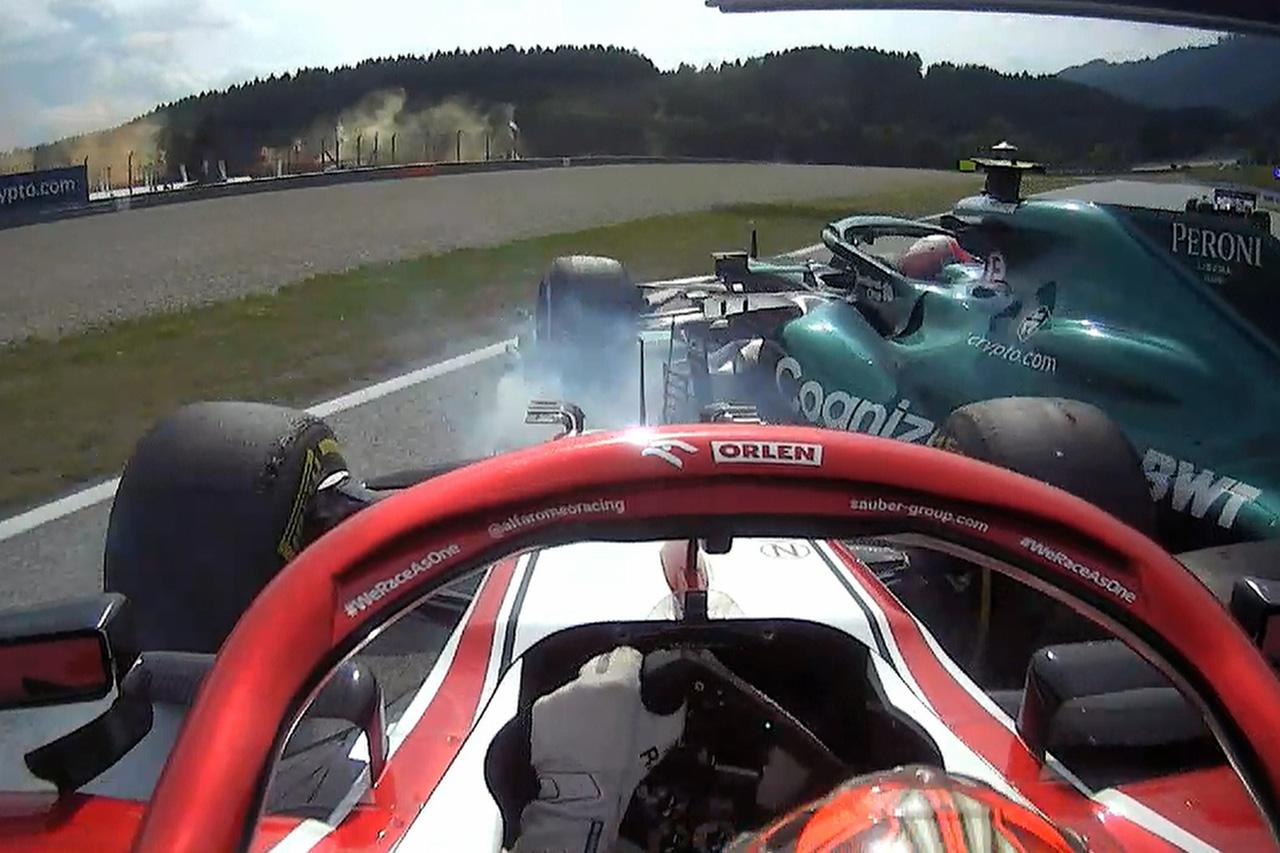 F1オーストリアGP 決勝:ライコネン、マゼピン、ラティフィにペナルティ