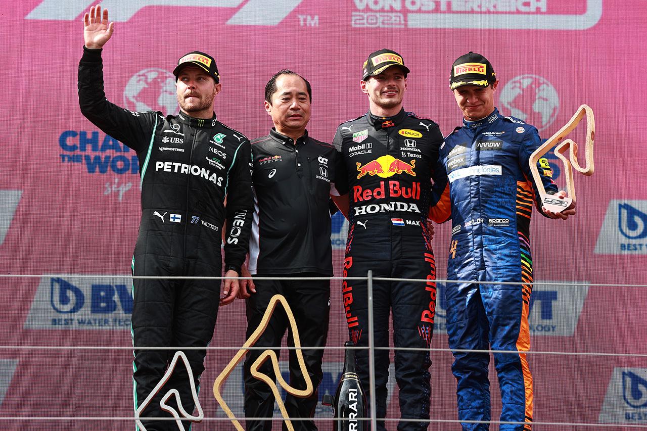 2021年 F1オーストリアGP 決勝:トップ10 ドライバーコメント
