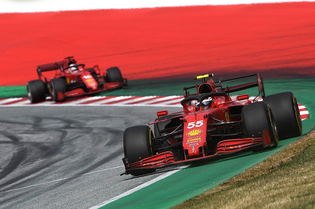 フェラーリF1、戦略とチームプレイでカルロス・サインツが5位奪取 / F1オーストリアGP 決勝