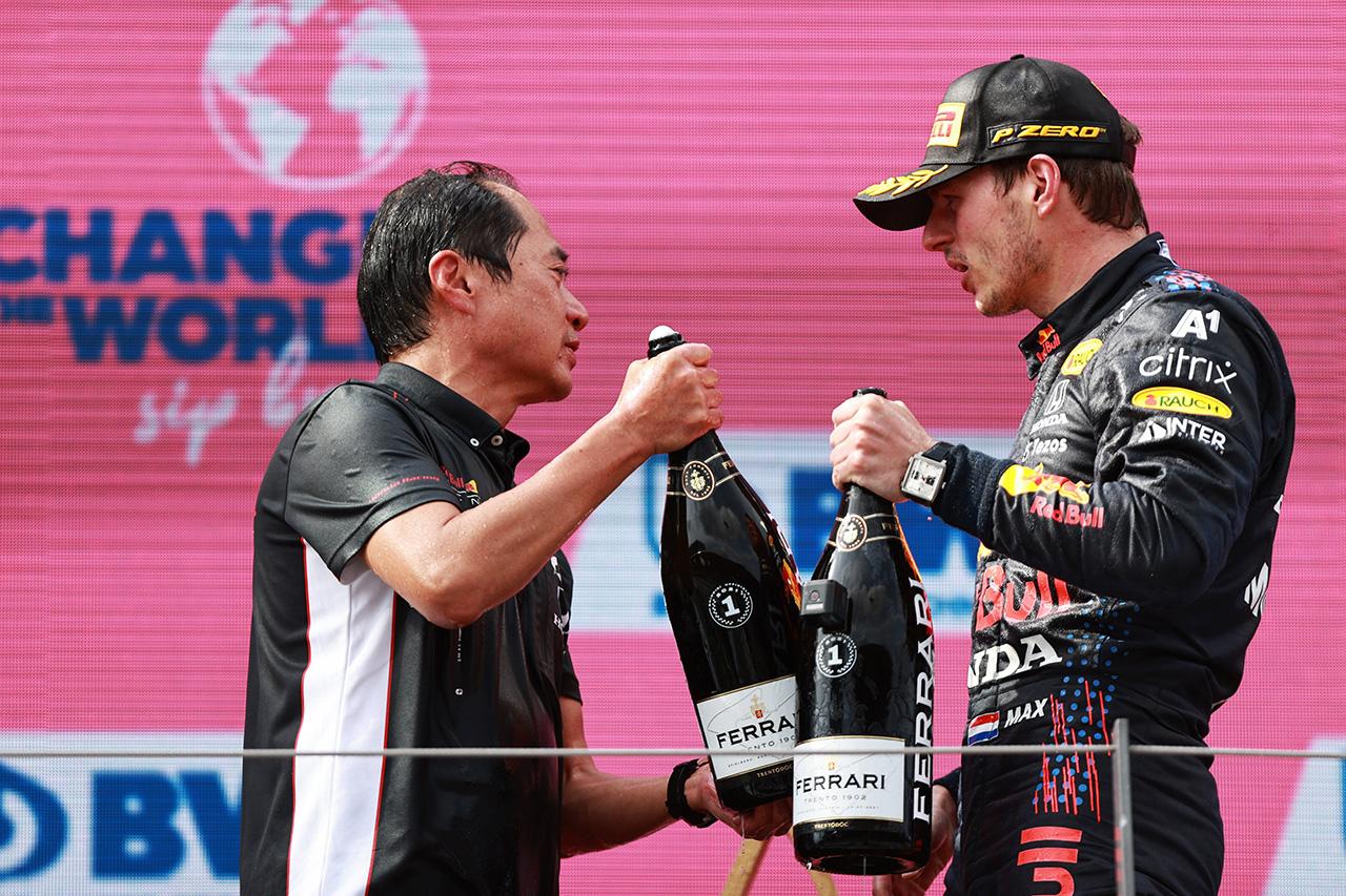 ホンダF1 田辺豊治TD 「また一つ記憶に残る勝利を挙げてくれた」 / F1オーストリアGP 決勝